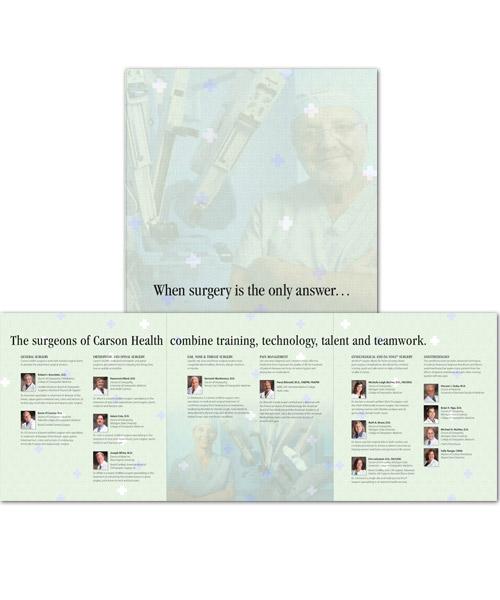 Carson Health Print Ads
