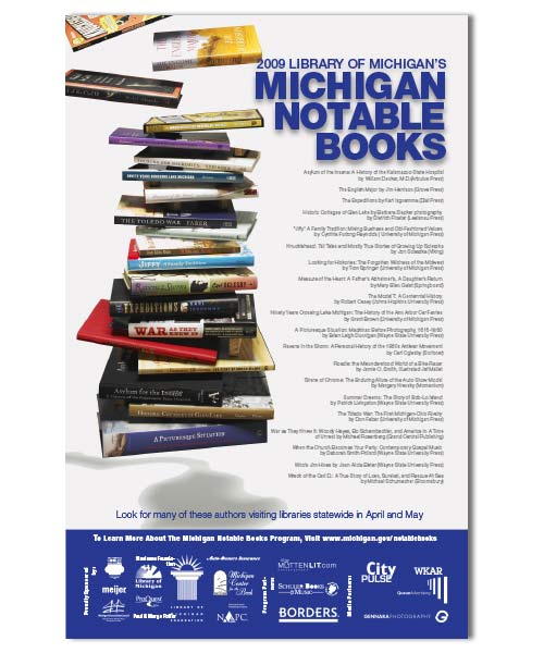 MIchigan Notable Books Poster.