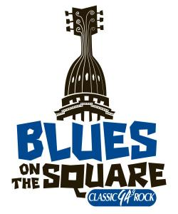 Blues on the Square Logo